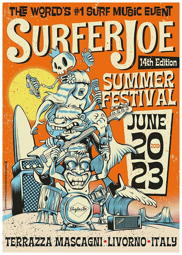 Surfer Joe Summer Festival 2019 20 23 June 2019 Livorno